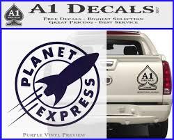 Futurama Planet Express Decal Sticker A1 Decals