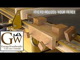 Micro Adjust Your Table Saw Youtube