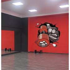 Shop Gym Wall Decal Gym Decor Gym Wall Sticker Overstock 31827659