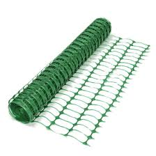 Green Barrier Fencing Plastic Mesh Fence 50m Rolls