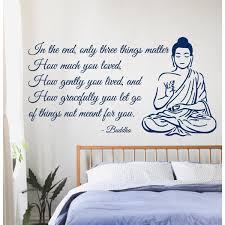 Shop Buddha Quote Sticker Vinyl Wall Art On Sale Overstock 9998007