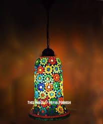 turkish mosaic pendant lamp light