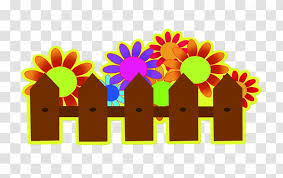 Fence Cartoon Stencil Painting Garden Transparent Png