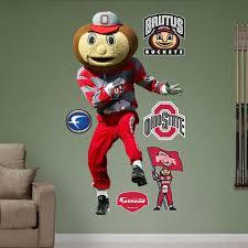 Shop Fathead Ohio State Brutus Buckeye Wall Decals Overstock 9318457