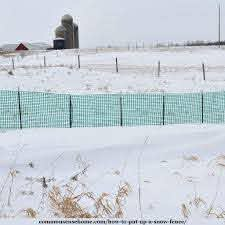 How To Put Up A Snow Fence With Photos And Video