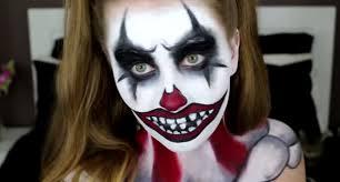 scary clown makeup tutorial saubhaya