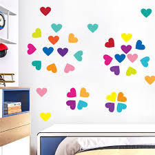 Pvc Wall Stickers Home Decoration For Bedroom Living Room Multicolor Love Shape Wall Decorations For Kids Boys And Girls Tree Wall Decals For Nursery Tree Wall Decor Stickers From Raymonu 22 03 Dhgate Com
