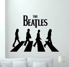 Amazon Com The Beatles Wall Decal Rock Music Band Vinyl Sticker Music Studio Decal Rock Wall Art Design Housewares Teens Room Nursery Bedroom Decor Removable Wall Mural 17sss Baby