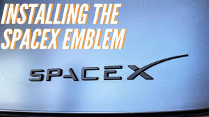 Installing The Spacex Emblem Youtube