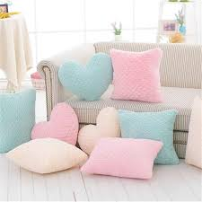Hot Crown Plush Pillow Colorful Stuffed Soft Heart Square Rectangle Shape Throw Cushion Baby Kids Gift Girls Room Decoration Plush Pillows Aliexpress