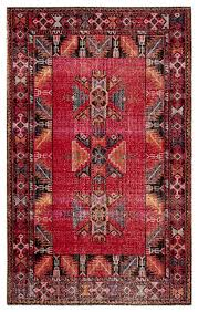 paloma indoor outdoor tribal red black