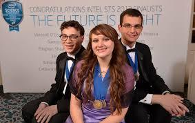 2013 Intel STS Top Three finalists: Sara Volz, Jonah Kalle… | Flickr
