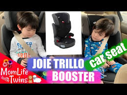joie trillo booster cat unboxing