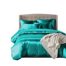 dreamz silk satin quilt duvet cover set