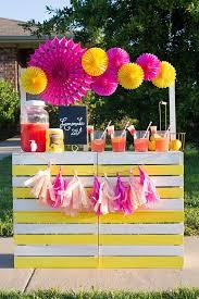 23 joyful diy lemonade stands to build