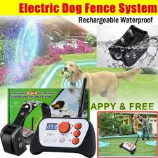 2 In 1 Dog Training System Wireless Dog Fence System With Training Collar Wish
