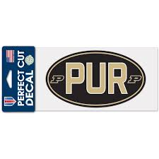 Purdue Car Decals Purdue Boilermakers Bumper Stickers Decals Fanatics