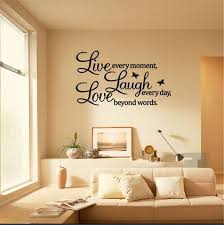 1 99 Pvc Live Laugh Love Letters Removable Room Art Mural Diy Wall Sticker Decal Ebay Home G Wall Stickers Home Decor Living Room Decals Diy Wall Decals