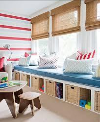 35 Awesome Kids Playroom Ideas Storage Kids Room Window Seat Storage Playroom Design
