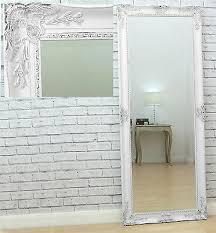 full length floor leaner wall mirror