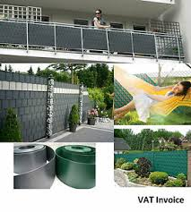 Privacy Garden Fence Mesh Panel Cover Balcony Shade Screen Sunshade Tape Strips Ebay