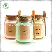 empty 8oz sugar jar 8 oz glass jar