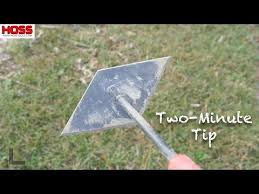 tool for removing thick garden weeds