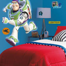 Buzz Lightyear Glow In The Dark Giant Wall Decal Roommates Decor