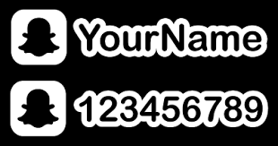 Snapchat Name Decal Custom Username Jdm Decal For Car Window Outdoors Etc Ebay