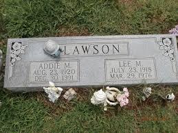 Addie Mae Lawson (Sugg) (1920 - 1991) - Genealogy
