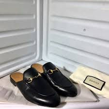 princetown leather slippers size