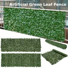 Artificial Ivy Screening On Willow Trellis 2x1m Fence Hedge Maple Leaf Decor For Sale Online Ebay
