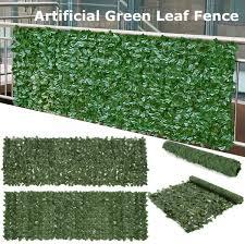 Unique Bargains 5 Pcs 2m Long Green Artificial Leaf Plant Festival Room Wall For Sale Online Ebay