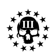 Yjzt 13 7cm 14cm 3 Percenter Skull Molon Labe Personaily Vinyl Decal Car Sticker Black Silver C10 01020 Car Stickers Aliexpress