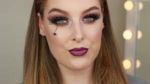 easy spider web makeup tutorial