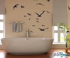 Seagulls Flying Around Vinyl Wall Decal Sticker 794 Stickerbrand