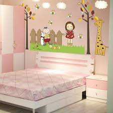 Waliicorners Children S Room Layout Baby Wall Stickers Boys And Girls Baby Bedroom Bedside Wall Decoration Kindergarten Cartoon Stickers Waliicorner S Store