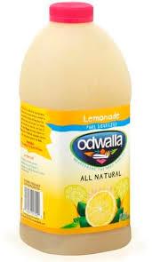 odwalla lemonade 64 oz nutrition