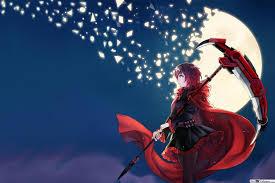 ruby rose rwby hd wallpaper