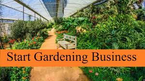 start uk based gardening business