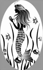 Mermaid Static Cling Etched Glass Window Decal For Doors Mirrors And Autos Ebay