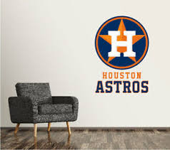 Wall Decals Stickers Houston Astros Mlb Baseball Wall Decal Decor For Home Car Laptop Sports Home Furniture Diy Tallergrafico Com Uy