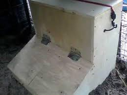 diy hog feeder two door gravity fed