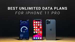 best unlimited data plans for iphone 11