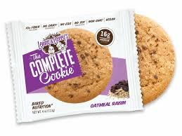 plete oatmeal raisin cookies 4oz