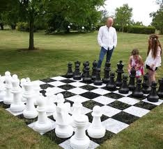 giant garden chess pieces