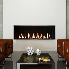 flare single sided fireplace 60