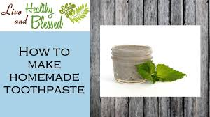 toothpaste with bentonite clay