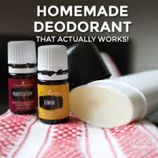 homemade deodorant recipe that actually