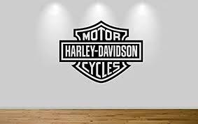 Amazon Com Harley Davidson Motorbike Wall Sticker Decal 1306 Home Kitchen